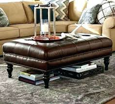 leather coffee table ottoman s target round diy