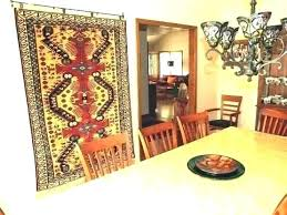 how to hang a rug hanger for wall carpets hanging persian carpet on large