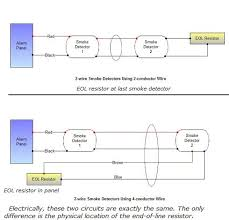 connecting 2 wire smoke detectors fire alarm system wiring diagram pdf at Conventional Fire Alarm Wiring Diagram