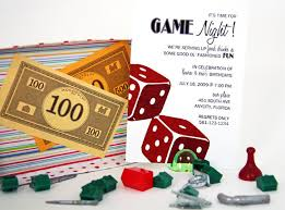 Game Night Invitation Template The Game Night Invitation I Wish I Could Write Board Gamer In Paradise