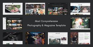 Html Photography Website Templates From Themeforest