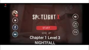 Spotlight X Room Escape Chapter 1 Level 3 NIGHTFALL Walkthrough Game Guide  - YouTube