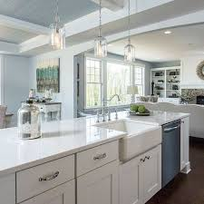 Image Grey Quartz We Have Found Our White Quartz Happy Place Hello Lovely How To Choose The Right White Quartz For Kitchen Countertops Hello