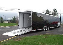 square top cargo trailers gooseneck 5th wheel worthington square top cargo trailers w gooseneck 5th wheel