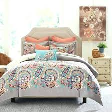 paisley bedspread bedding sets queen brilliant hill bed the home decorating for comforter blue