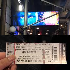 Blue Man Group Broadway Ticket New York Usa Klook