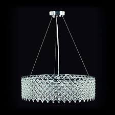decor living 104327 15 tiara 3 light crystal and chrome chandelier