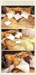 full size of ancient world map 1752 bedroom decor vintage interior vintage map bedding set this