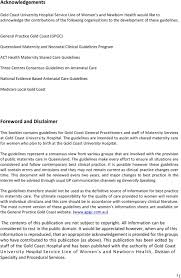 Birth Plan Guidelines Gold Coast University Hospital Maternity Shared Care Guidelines Pdf