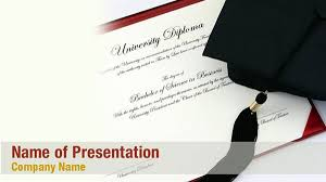 College Ppt Templates University Diploma Powerpoint Templates University Diploma
