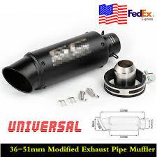 <b>Universal</b> Inlet <b>36</b>-<b>51mm</b> Stainless Steel <b>Motorcycle Modified</b> ...