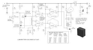 battery discharge cut off control battery discharge cut off control schematic
