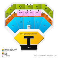 Choctaw Concert Seating Chart Choctaw Grand Theater 2019 Seating Chart