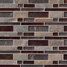 urbano blend interlocking glass stone mosaic tile for wall backsplash