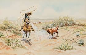 Byron Wolfe   California Vaquero and a Brush Sleeper by Altermann Galleries  & Auctioneers - 1636853   Bidsquare