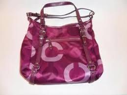Pink Coach Wallet Purse