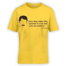 Swanson Sprüche Hunde Kinder T Shirt X10 Farben Geschenk Lustiges