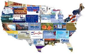 Ebt Cards Map Food Stamps Food Stamp Card Food
