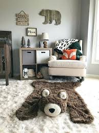 bear rug nursery nursery rug bear rug woodland nursery baby room decor animal nursery rugs nurseries