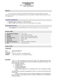 Resume Examples For Experienced Professionals 73 Images