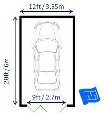 garage floor plans.  Garage Garage With Bifold Doors  Intended Garage Floor Plans