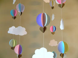 Diy Birthday Decorations Up Up And Away Baby Shower Decorations Hot Air Balloon