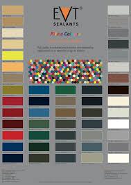 Evt Prime Colours Evt Sealants