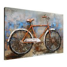 amazon asmork 3d metal art 100 handmade metal unique wall art stereograph oil painting home decor ready to hang sculpture artwork bicycle 30  on cycling metal wall art with amazon asmork 3d metal art 100 handmade metal unique wall
