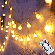 Liwiner <b>LED Fairy String Lights</b> with【 Remote& Timer】16FT 50Leds ...