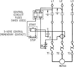 electric start wiring diagram 3 wire start stop wiring diagram electrical mechanical 3 wire wiring diagram start stop