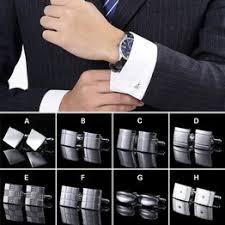 1 Pair Party Cuff Button Shirt Cufflinks Copper For Men ... - Vova