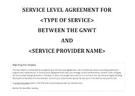 Tech Support Contract Template It Support Contract Templates
