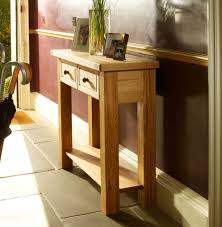 hall table furniture. Natural And Sustainable Bretagne 2 Drawer Hall Table Design By Charlton Furniture O