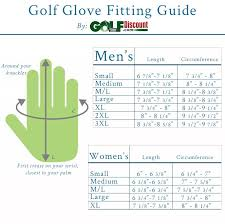 Titleist Players Glove Size Chart The Ultimate Golf Glove Fitting Guide Golf Discount Blog
