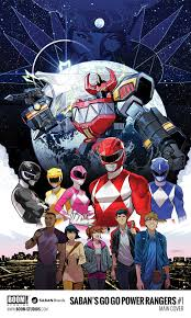 cover image for go go power rangers 1 by dan