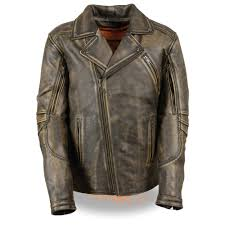 mlm1515 blk beigemilwaukee leather triple stitch long beltless distressed jacket distressed blackish beige premium leather 1 2 1 3mm full sleeve zip out