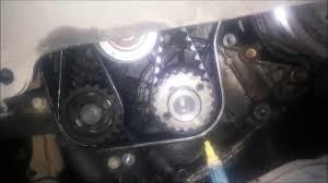 Toyota 2C Diesel cam belt - YouTube