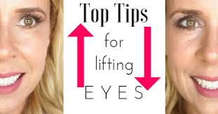 hooded eye makeup tips how to lift aging eyes video tutorial