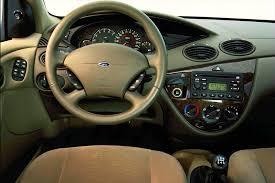 2000 ford focus interior