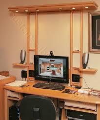 Custom Desk Design Stunning Idea Build Wooden Custom Desk Design Plans  Download Corner