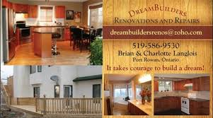 Dreambuilders Renovations And Repairs It Takes Courage To Build A