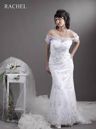 Brautkleid Rachel - Schmales Übergrößen Hochzeitskleid mit Ärmeln