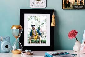 graduation photo in frame