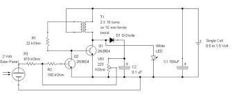 joule thief ultra simple control of light output 6 steps application of the circuit 3