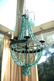 chandeliers blue beaded chandelier blue beaded chandelier good blue beaded chandelier and turquoise blue beaded