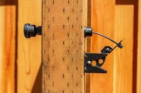 wood fence latch actuator