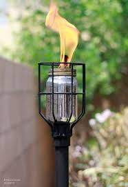 outdoor torch lighting. best 25 tiki torches ideas on pinterest bottle torch diy wine and outdoor lighting