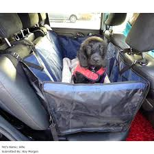 medium image for quilted pet hammock car seat cover kurgo loft dog