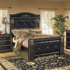 Mansion Bedroom Furniture Signature Design By Ashley Furniture Coal Creek Upholstered Queen