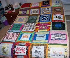 T Shirt Quilt Patterns Stunning Scrappy TShirt Quilt FaveQuilts